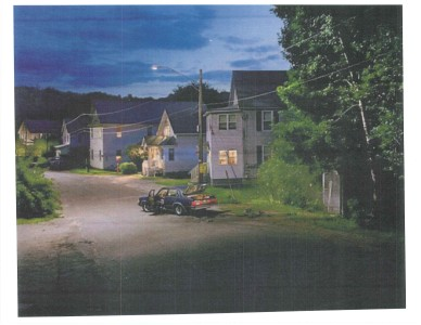 """The work of Gregory Crewdson provided much of the visual vocabulary for Next to Normal. It informed the color palette, the quality of light, and the feeling that we are in a lived-in space."" - Kevin Rigdon</small"
