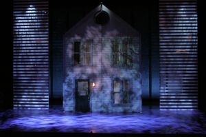 The Next to Normal set in Atlanta