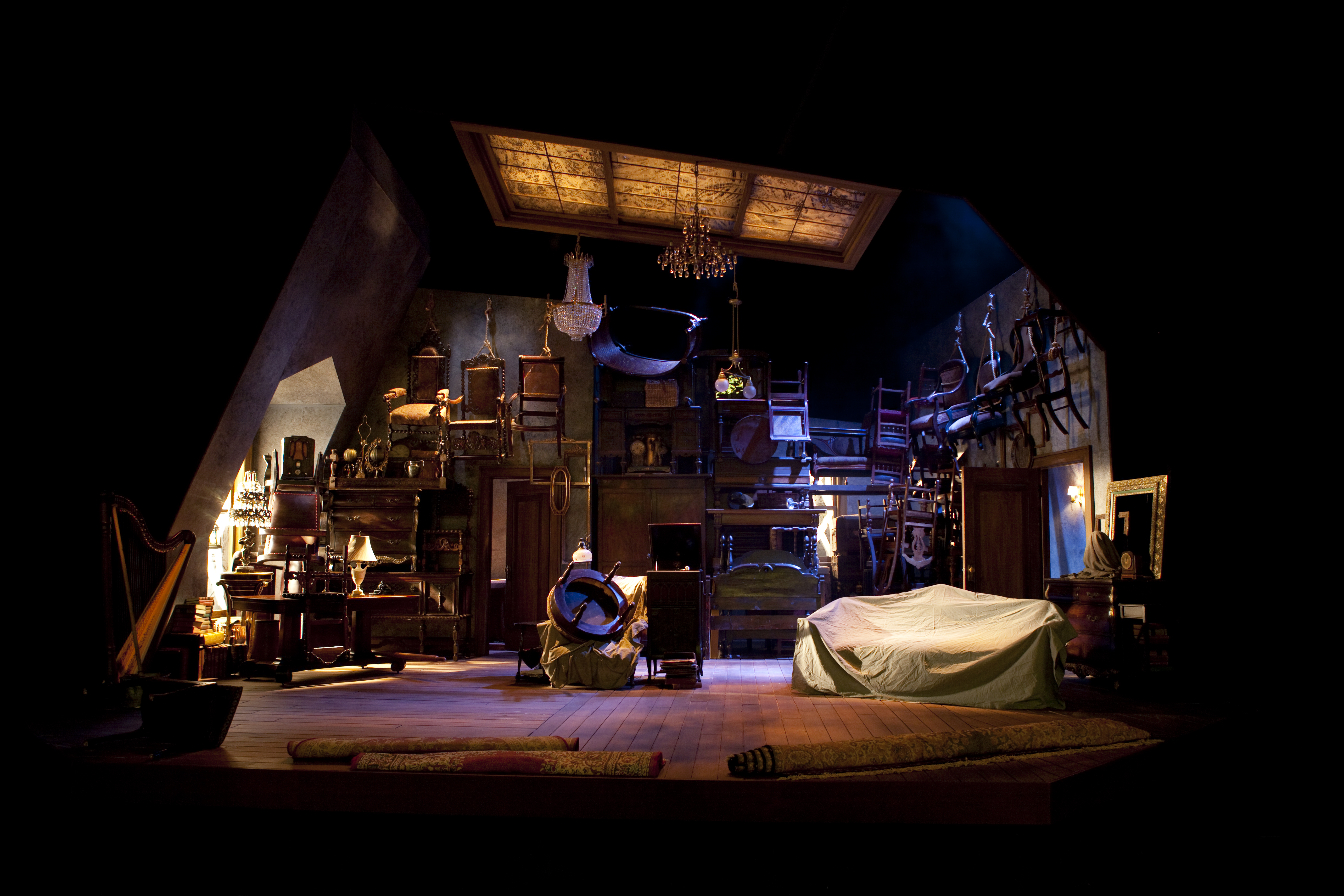 set of stage with - photo #38