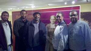 Andrew Ahrens, Tyler Rollinson, David Anderson with Paul and Christine Carter from the Harriet Tubman House.