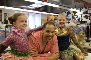 Oberon and 2 fairies