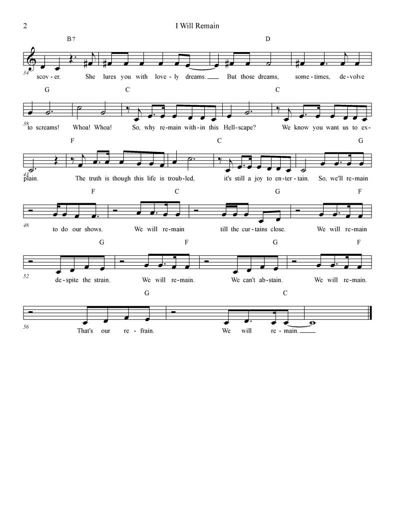 I Will Remain Lead Sheet-page-002