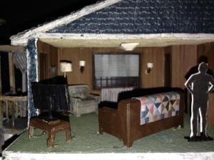 Last Gas model upstairs
