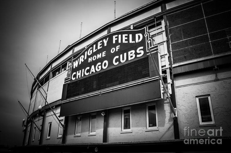 chicago-cubs-wrigley-field-sign-in-black-and-white-paul-velgos