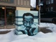 "Son House mural at South Ave. and Gregory St., by ""Theivin' Steven"" Dorbiola"