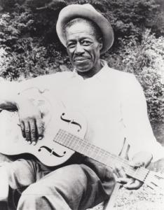 Photograph of Son House by Dick Waterman
