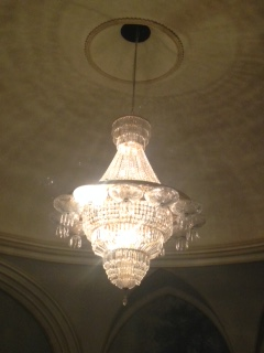 Chandelier at Theatre Royal