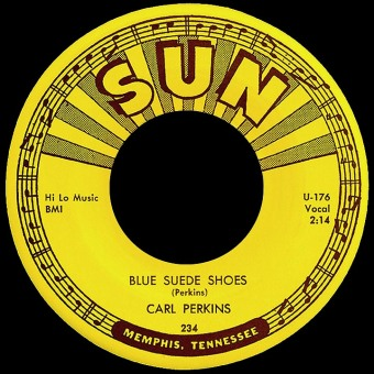 carl-perkins-blue-suede record