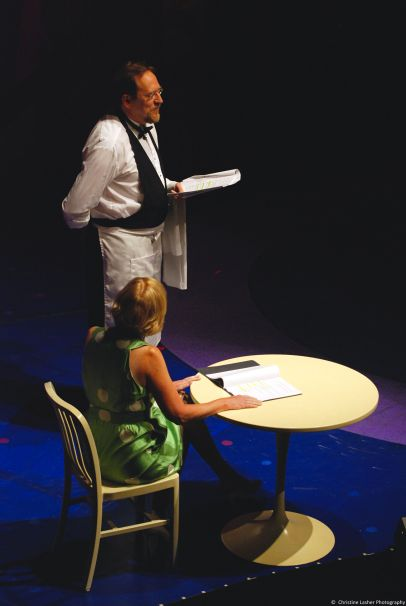 Director of Education and Artist in Residence Skip Greer performing at Summer Curtain Call 2010.
